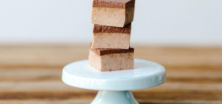 Salted Caramel & Chocolate Fudge Squares Recipe