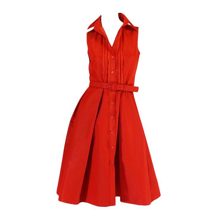 Prada on Pinterest | Day Dresses, Prada Dress and Silk Dress