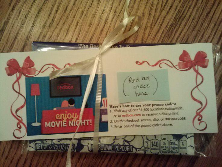 Redbox promo codes with popcorn