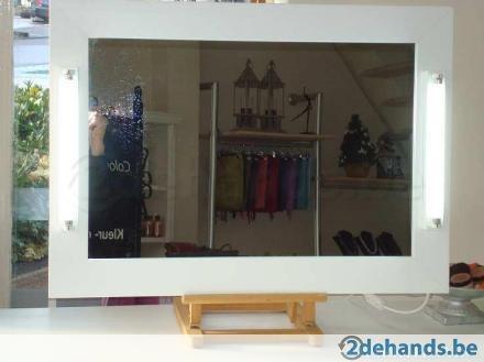 Visagie / make-up spiegel met daglicht lampen -- nieuw --- - Te koop | 2dehands.be