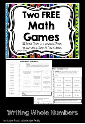 4th Grade Math Games and Videos