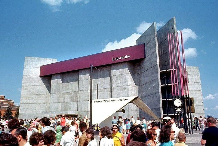Expo 67 - Labyrinth Pavilion