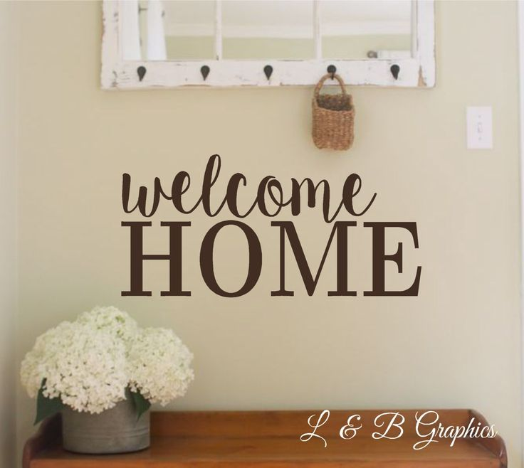 Items Similar To Home Life Laughter Love  Vinyl Wall Decal Words For The  Wall Writing For Your Walls On Etsy