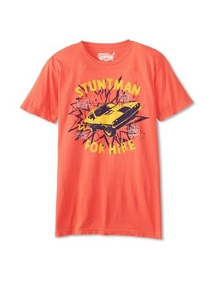 34% OFF Darring Men's Stuntman T-Shirt (Berry Red)