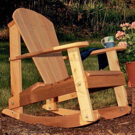 die besten 25+ adirondack rocking chair ideen auf pinterest, Hause und Garten