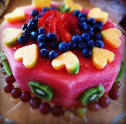 -Ingredients:1 lrg container of red raspberry sherbet,2 kiwis,1 fresh ...