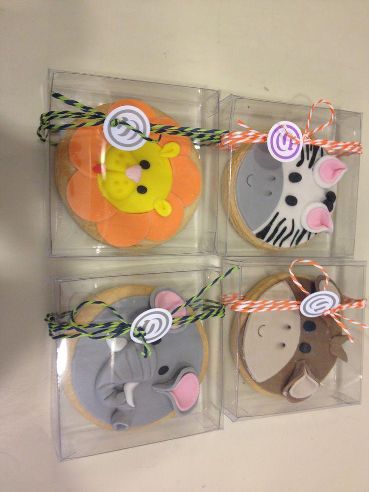 Μπισκότα - Ζωάκια σε κρυσταλ κουτί! #sugarela #mpiskota #ZoakiaSeCrystalKouti