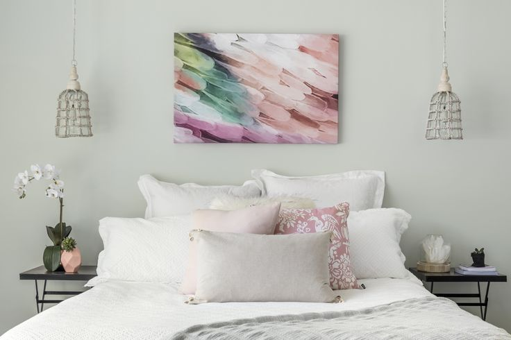 Shaynna Blaze's tips for injecting fresh colour into an interior by using artwork, painting furniture legs, painting walls in a bold colour and using furniture and accents in bold colours too.