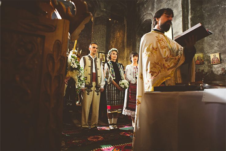 Traditional moldavian wedding