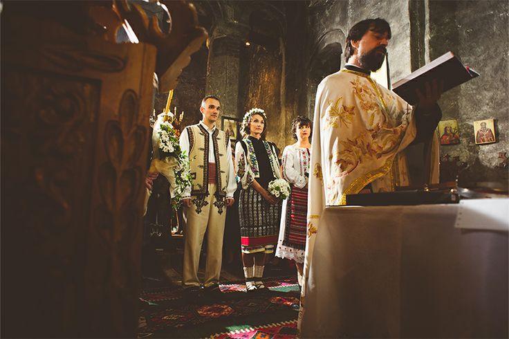 Traditional moldavian wedding