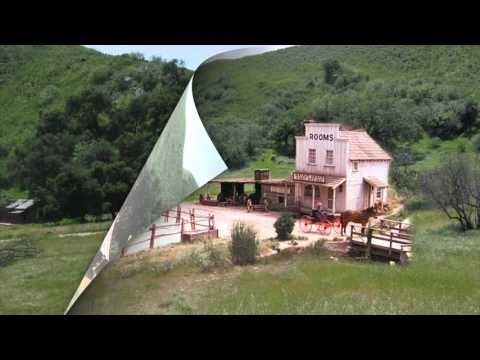 """A whole new video montage with new """"then & now"""" views from the Big Sky Movie Ranch where """"Little House On The Prairie"""" was filmed /-/-/-\-\-\ Un tout nouveau..."""