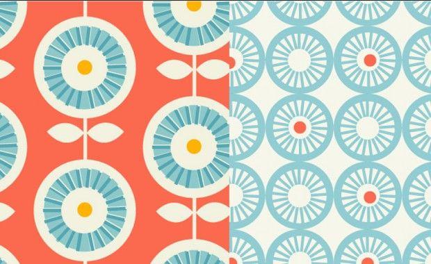 scandinavian: Ideas, Artists, Patterns, Color, Caves, Vintage Pattern, Design, Flower