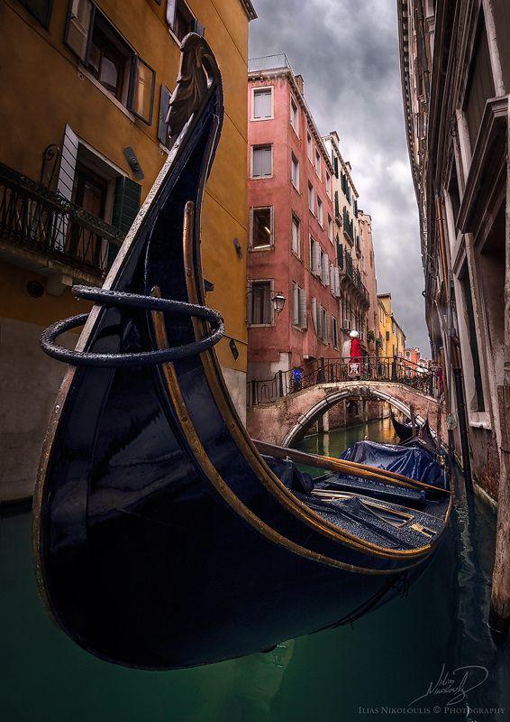 Rainy Venice by ilias nikoloulis on 500px