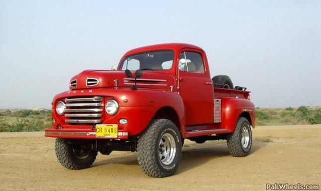 beautiful ford truck photos | The Most Beautiful 4x4 Truck of Pakistan -533011