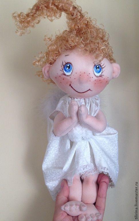 Купить Лучик. Добрый ангел - ангелочек, кукла ручной работы, подарок, подарок на любой случай