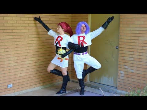 How To Make Team Rocket Costumes! Jessie and James Cosplay! No Sew Tutorial…                                                                                                                                                                                 More