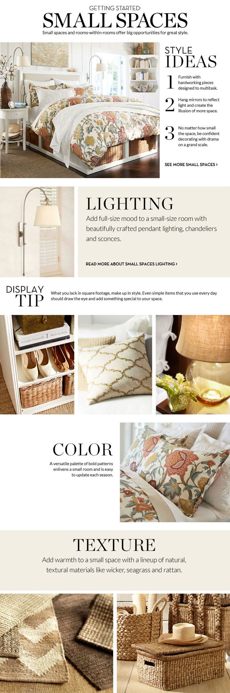 small spaces pottery barn apartments smallspaces