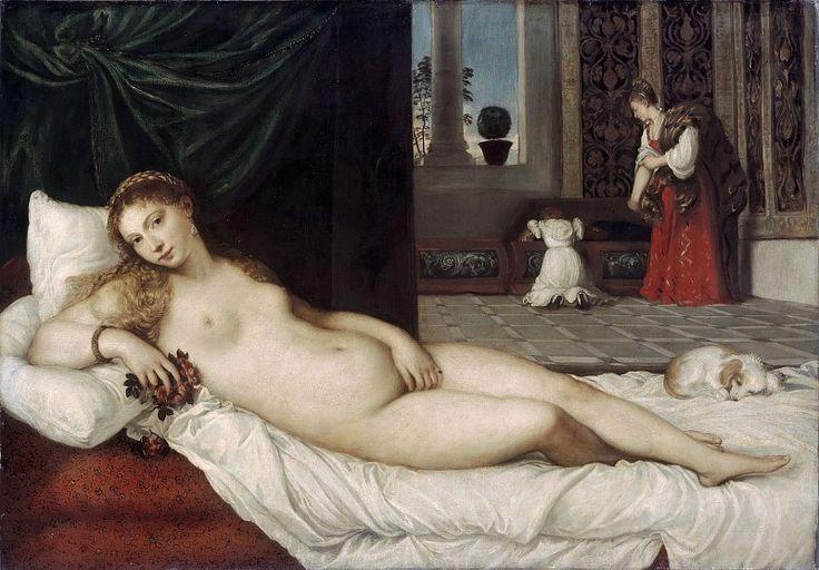 Венера Урбинская. Тициан (Тициано Вечеллио)