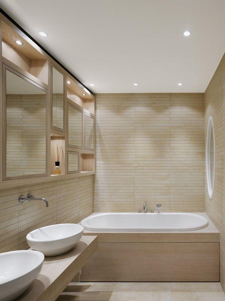 171 besten Badezimmer Bilder auf Pinterest Badezimmer, Moderne - led beleuchtung badezimmer