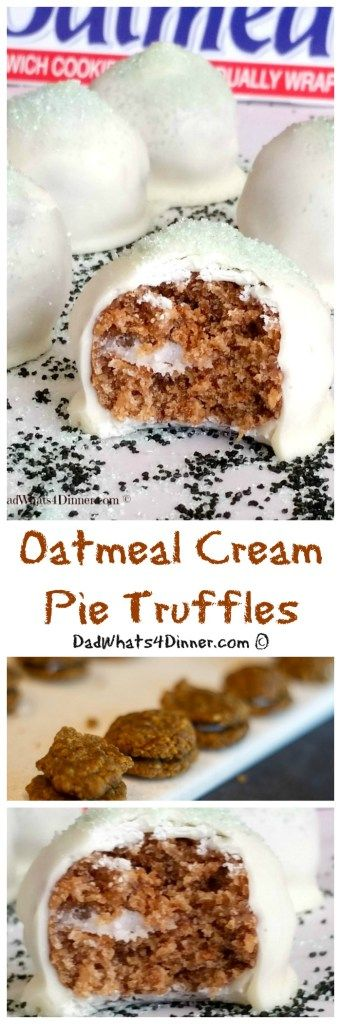 Two ingredient Oatmeal Cream Pie Truffles are the jewels of the Leprechaun. Easy to decorate for any holiday and the kids will love them.