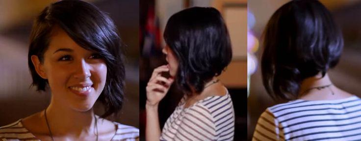 kina grannis asymmetrical hair---JUST LOVE IT!
