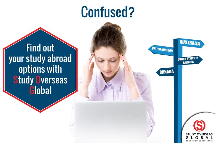 Now you don't need to get confused about the best option for your study abroad experience. We are here to help you throughout your international study process.  #StudyOverseas