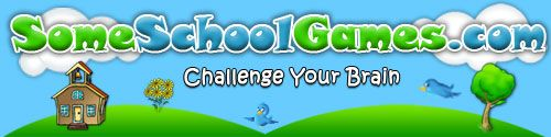 Some School Games   collection of fun Kid Safe Games that promote problem solving and logical thinking skills.