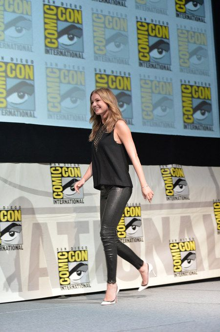 Emily VanCamp - Captain America: The Winter Soldier: Comic-Con 2013