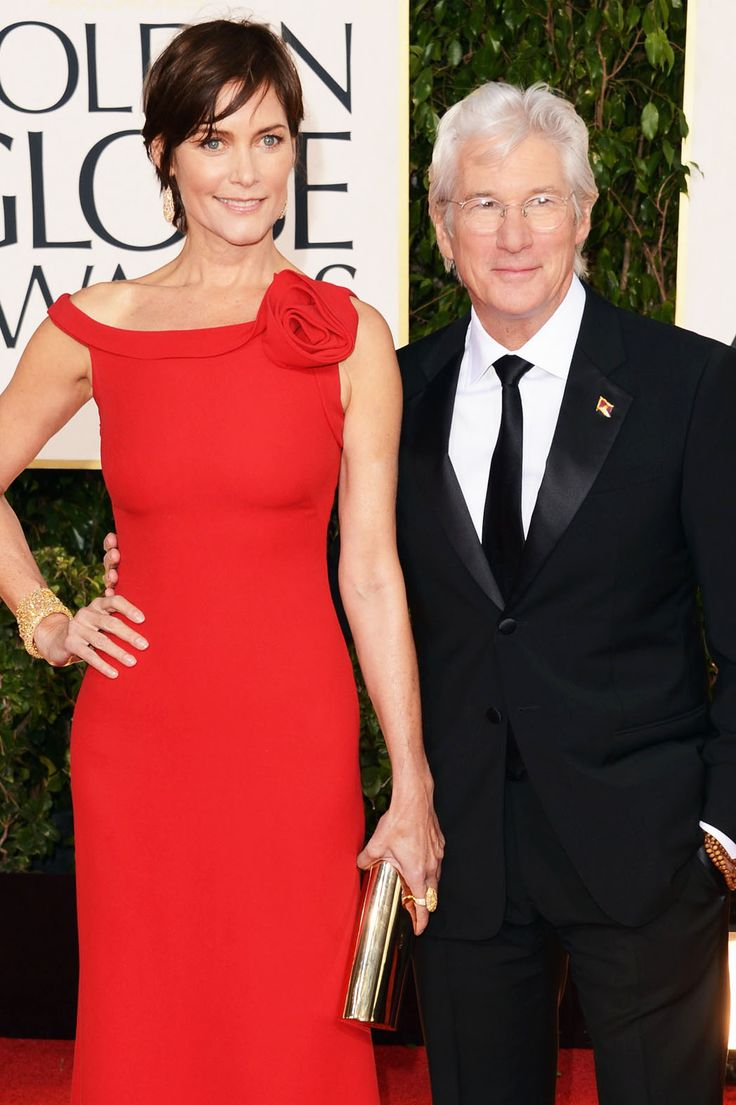 Carey Lowell and Richard Gere at the 70th Annual Golden Globe Award