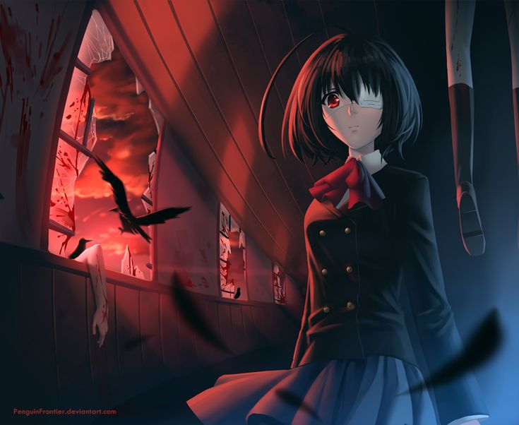 Another f k i 39 m the deadman horror anime but i think - Another anime hd wallpaper ...