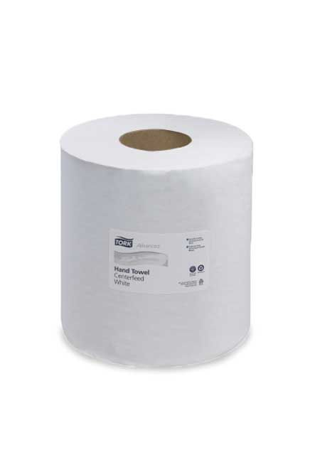Tork Advanced 983', Hand Towel Centerfeed: 6 rolls of 983', Center-pull roll towels