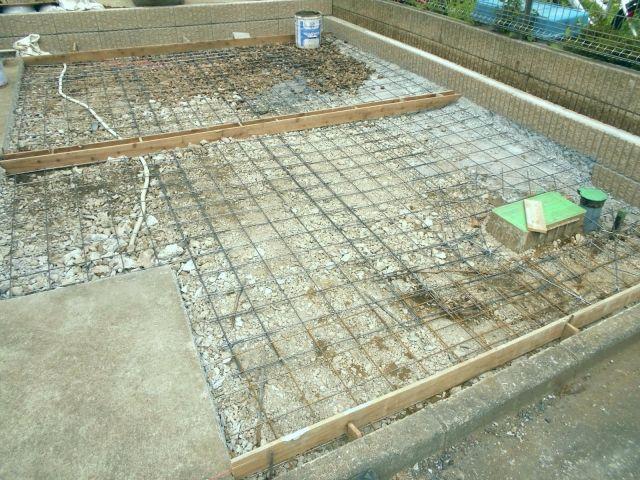 車1台分 10 20m2の土間コンクリート工事の相場 土間コンクリート コンクリート 土間