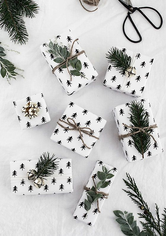 Printable Gift Wrap from Homey Oh My