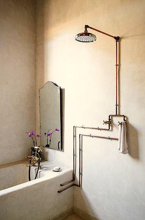 les 312 meilleures images propos de d co salles d 39 eau et sanitaires sur pinterest toilettes. Black Bedroom Furniture Sets. Home Design Ideas