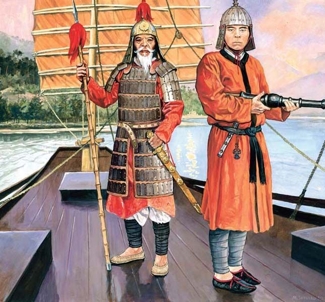 Chinese warriors of 15th c. by Marek Szyszko