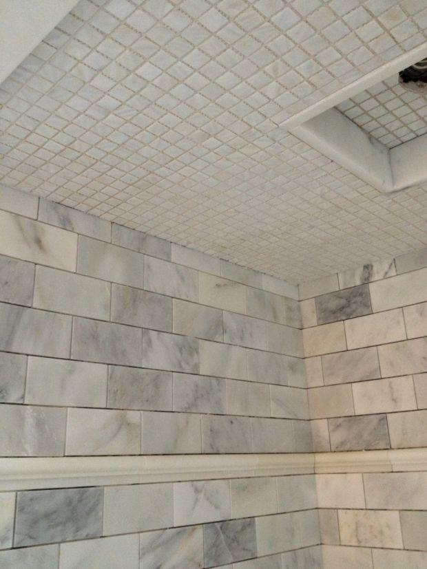 138 best tiles images on pinterest bath remodel bathroom meredith heron design mother of pearl ceiling tile ppazfo