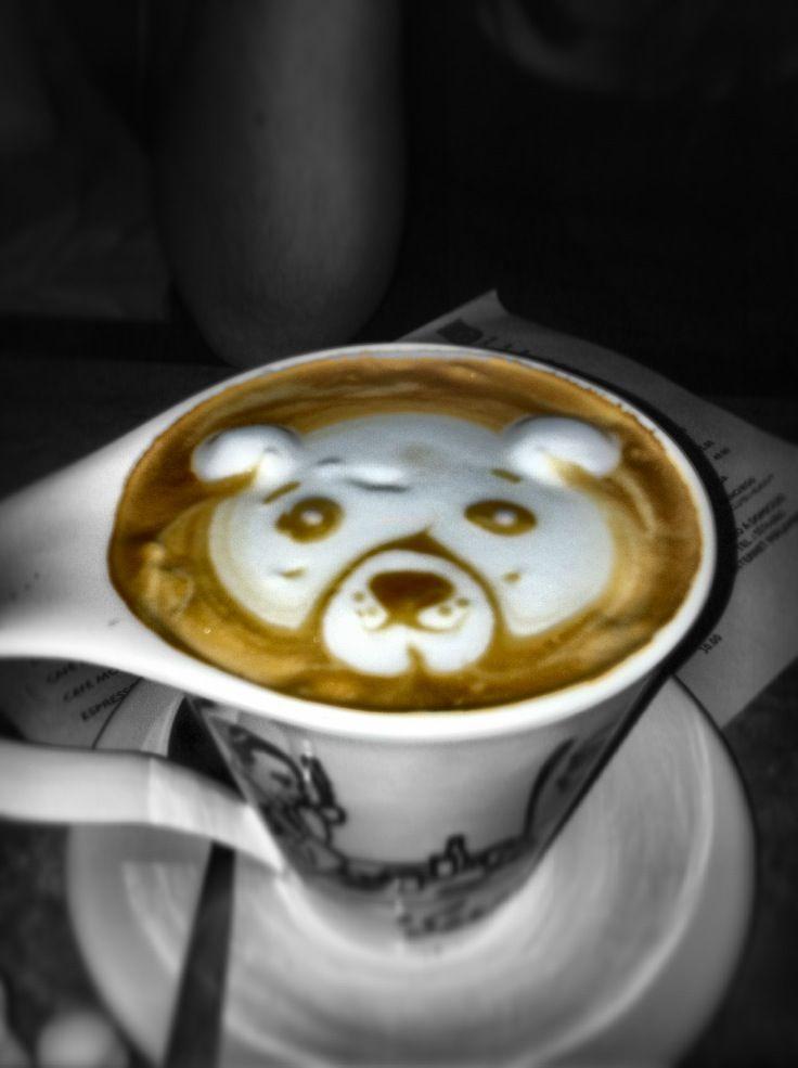 Decorado en café