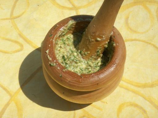 Recette de Pesto aux fanes de radis