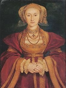 Anne of Cleves (German: Anna von Jülich-Kleve-Berg, Dutch: Anna van Kleef) (22 September 1515[1] – 16 July 1557) was a German noblewoman and the fourth wife of Henry VIII of England and as such she was Queen of England from 6 January 1540 to 9 July 1540. The marriage was never consummated, and she was not crowned queen consort. Following the annulment of their marriage, Anne was given a generous settlement by the King, and thereafter referred to as the King's Beloved Sister.