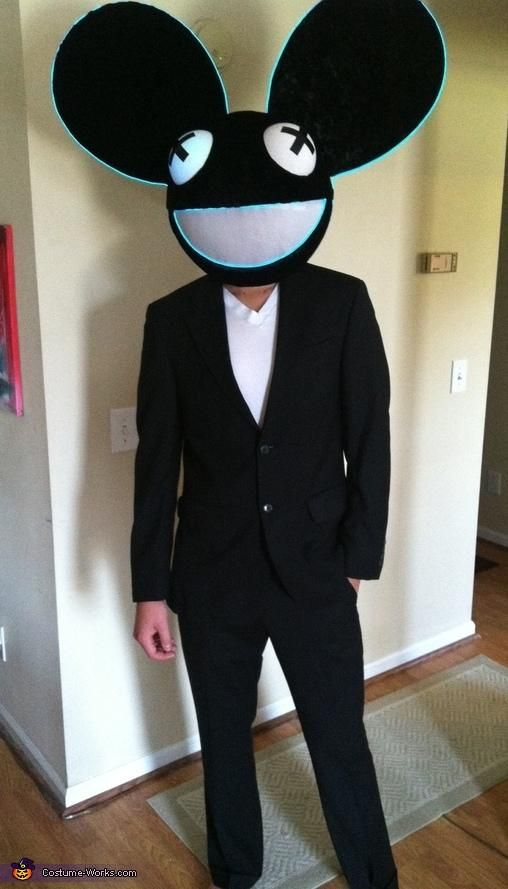 DIY Tutorial: DIY Men Halloween Costumes / DIY Deadmau5 - Costume Works - Bead&Cord