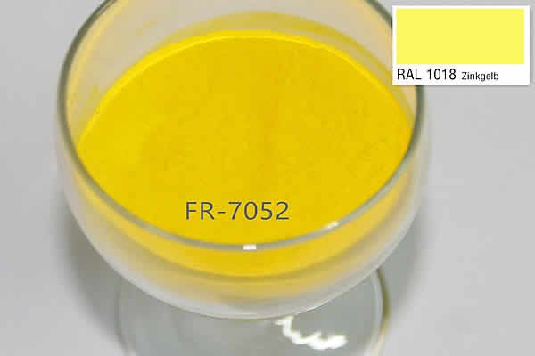 FR7052 RAL1018 OUT Door Yellow Powder Coatings-powder coating supplies  http://www.fairpowdercoating.com/FR7052-RAL1018-OUT-Door-Yellow-Powder-Coatings-1676.html