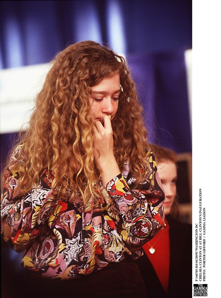 P 146745 010 01/20/93 Washington Dc Chelsea Clinton At At Bill Clinton's Inauguration  (Photo By Porter Gifford/Getty Images) via @AOL_Lifestyle Read more: https://www.aol.com/article/news/2017/07/15/chelsea-clinton-responds-to-fox-news-commentator-who-said-hillar/23031744/?a_dgi=aolshare_pinterest#fullscreen