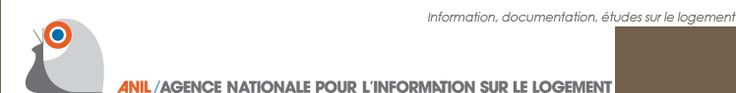 Logo de l'ANIL / Agence Nationale pour l'Information sur le Logement - information, documentation, études sur le logement