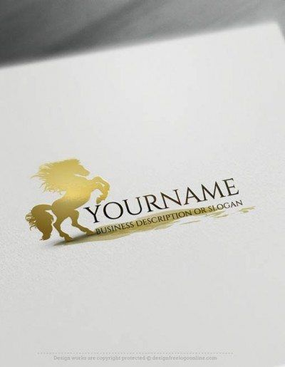 Create a Logo Free – Horse Logo Templates