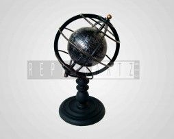 Gyroscope Globe Made of Iron