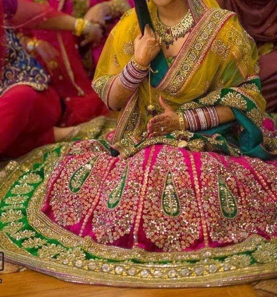 womenz attire: bridal lehenga