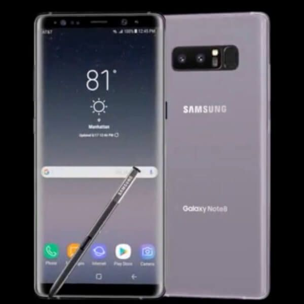 سعر ومواصفات Samsung Galaxy Note 8 مميزات وعيوب سامسونج جلاكسي نوت 8 Samsung Galaxy Galaxy Samsung