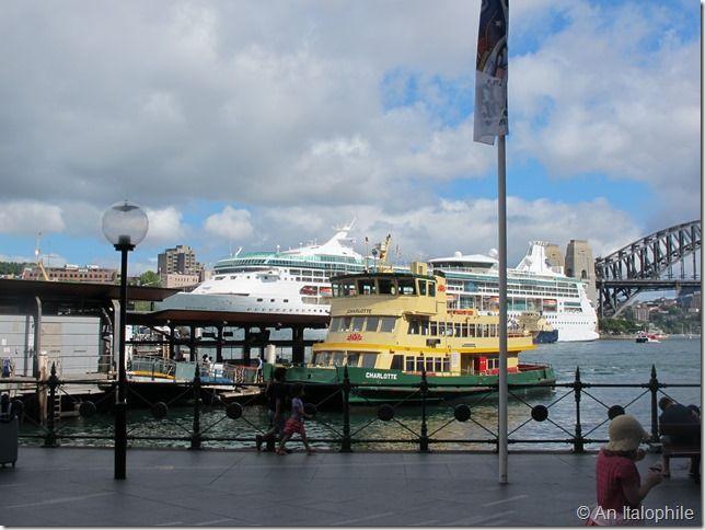 Ferries in Sydney, Circular Quay