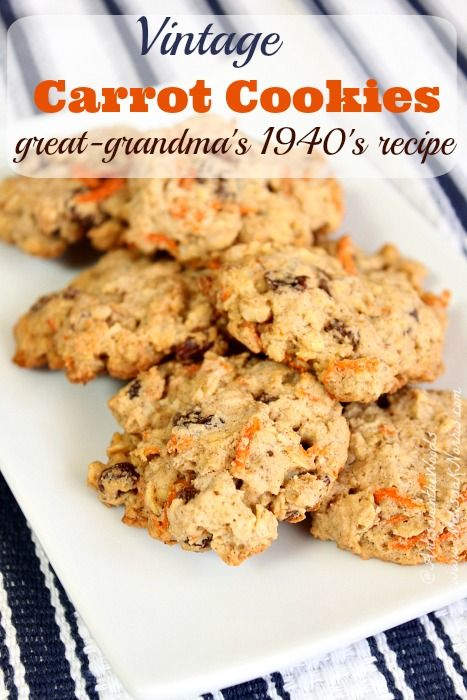 Need a vintage recipe for healthy and frugal carrot cookies that can double as breakfast? Try this yummy recipe from the 1940's economy bulletins.