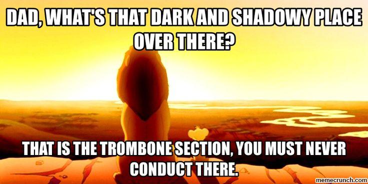 trombone meme generate a meme using simba and mufasa